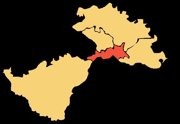 Karta Područja Lag Una - Hrvatska Kostaijnica