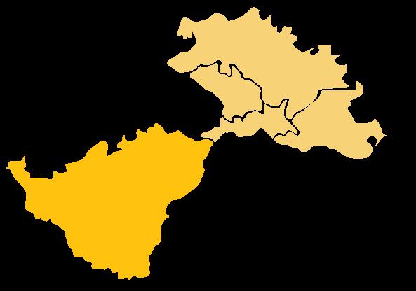 Karta Područja Lag Una - Općina Dvor