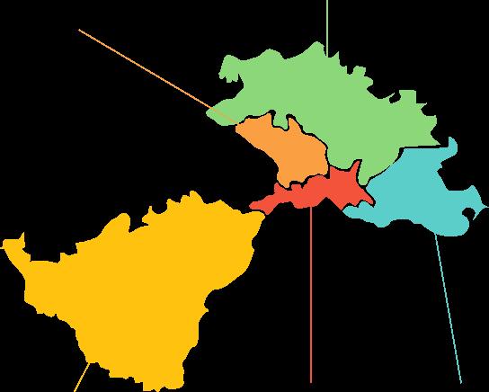 Karta područja Lag Una