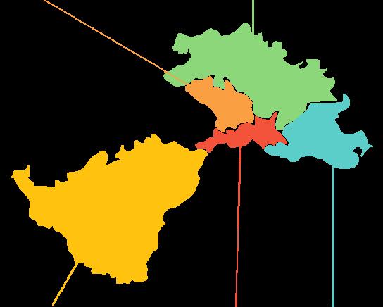 karta područje Lag una